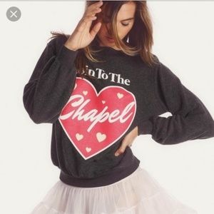 Goin to the Chapel Wildfox sweater sweatshirt Rare